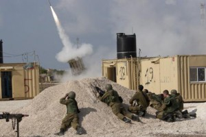 Israels-Iron-Dome-blocks-Gaza-barrage
