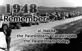 Palestina - NAKBA - 1948
