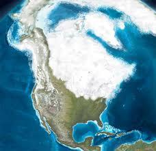 America, periodo glaciale del Pleistocene