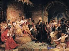 Colombo e i reali di Spagna