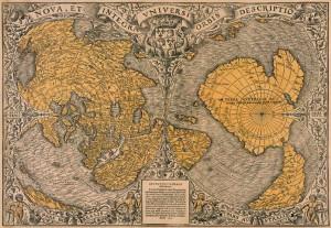 Mappa di Oronzo Fineo