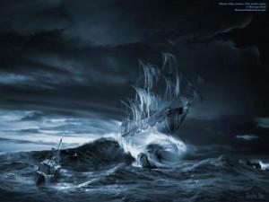 Oceano in tempesta