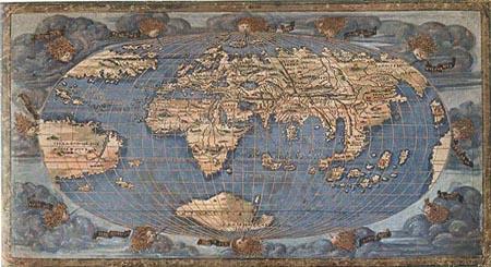 Planisfero di Rosselli (1507)