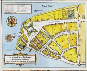 mappa di New Amsterdam