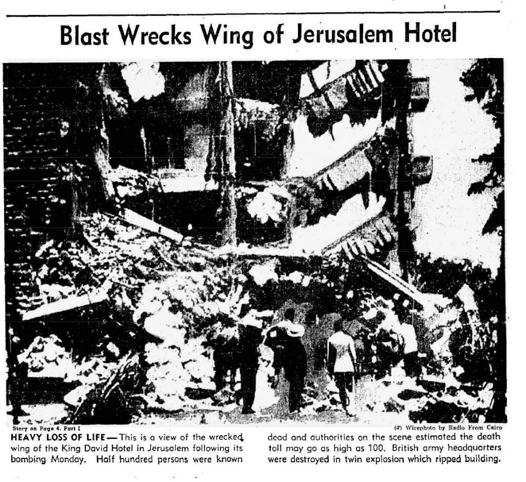 Articolo sull'attentato