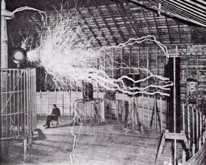 Il laboratorio Tesla a Colorado Springs