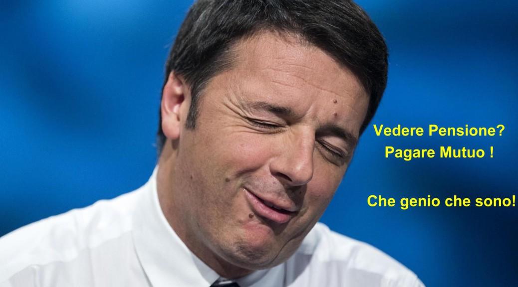 Renzi, il giullare toscano