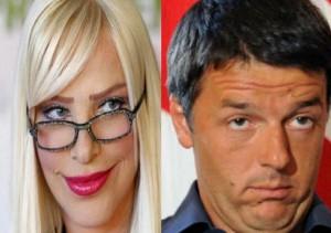 Cicciolina e Renzi