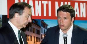 Sala e Matteo Renzi a quando i conti dell'EXPO