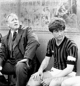 Liedholm e Rivera nell'anno della stella al Milan