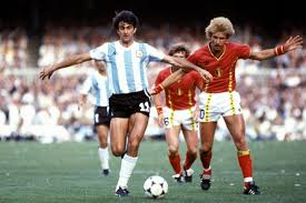 Ludo Coeck ai mondiali di Spagna 1982