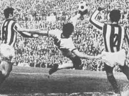 Il gol in rovesciata contro il Vicenza