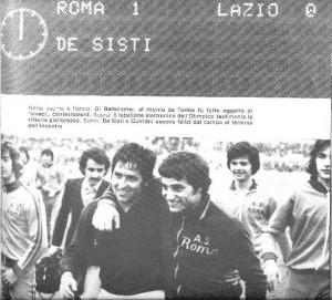 Per questo gol valeva la pena di ritornare a Roma - parole di De Sisti